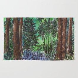 Fairytale forest Rug