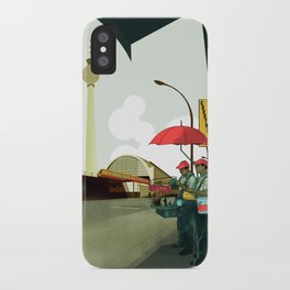 Alexander Platz II iPhone Case