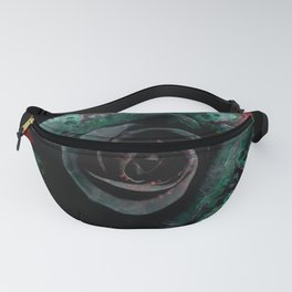 Dark Rose - Abstract Floral Photography by Fluid Nature Fanny Pack