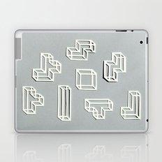 Tetris Papercut Laptop & iPad Skin