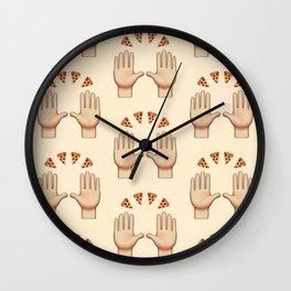 Pizza Praise Wall Clock