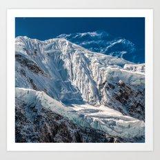 Mountain Between Us Art Print