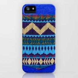Blue Pocket Design iPhone Case