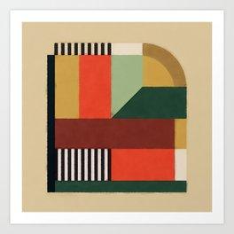 Terra Block 02 Art Print