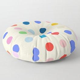 Pretty Cute Spots Floor Pillow