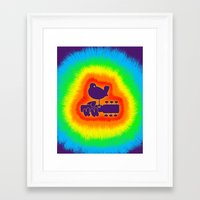 woodstock Framed Art Prints featuring Woodstock by HisDearLove