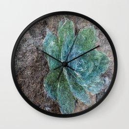 Green Beauty Wall Clock