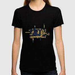 Python Wordcloud Classic Premium T-shirt