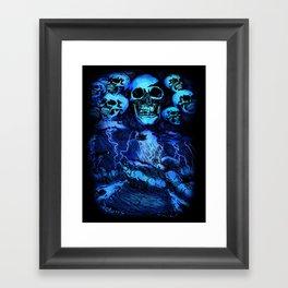 SKULLSTORM Framed Art Print