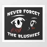MarkCrilley: #2. Never Forget The Blushies #Tshirt #Graphic Art Print