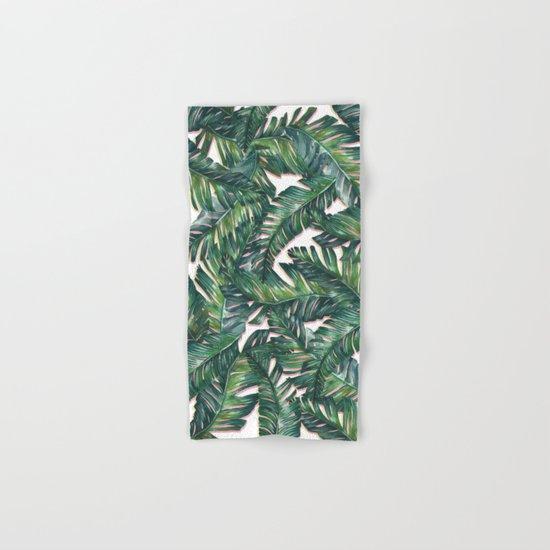 banana leaf 3 Hand & Bath Towel