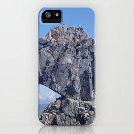 square rock iPhone Case