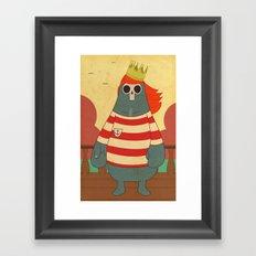 King of Pirates Framed Art Print
