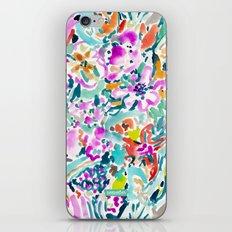 GARDEN GRAVY FLORAL iPhone & iPod Skin