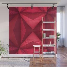 Origami - Fuchsia Wall Mural