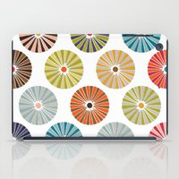 carousel iPad Cases featuring carousel by Sharon Turner