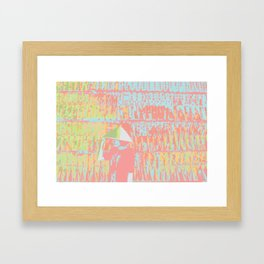 Memories of Jayne Framed Art Print
