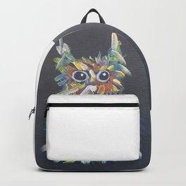 confused hairball Backpack