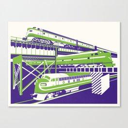 RVA Triple Crossing Canvas Print