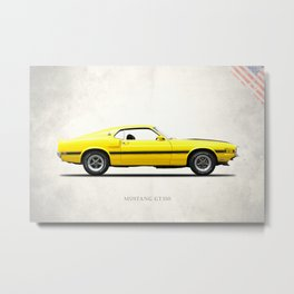 The Shelby Mustang GT350 Metal Print