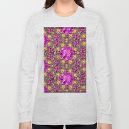 BEAUTIFUL FACETED PINK SAPPHIRES & CITRINES GEMS ART Long Sleeve T-shirt