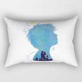 I am Finding Neverland Rectangular Pillow