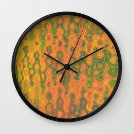 Mushroom Coral Orange - Coral Reef Series 033 Wall Clock