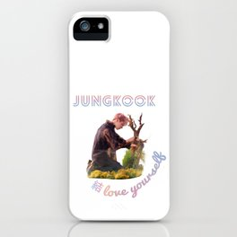 BTS Love Yourself Answer Design - Jungkook iPhone Case