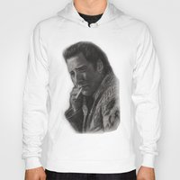 nicolas cage Hoodies featuring WILD AT HEART - NICOLAS CAGE by William Wong