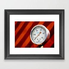 HyperGauge Framed Art Print