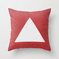 abyss Throw Pillows featuring Abyss by Roxy Leaver