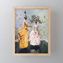 China Through The Looking Glass 3 Framed Mini Art Print