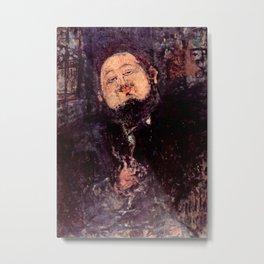 "Amedeo Modigliani ""Diego Rivera"" Metal Print"
