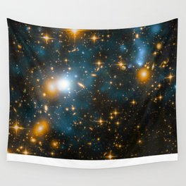 Cosmos 2, When stars collide (enhanced version) Wall Tapestry