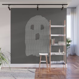 Ghost Typography Wall Mural