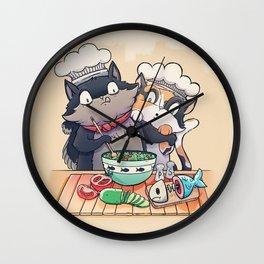 Little Chefs Wall Clock