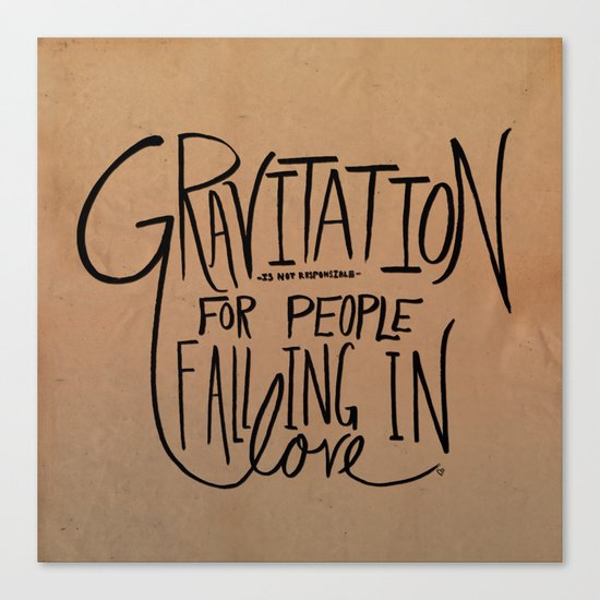 Gravitation Canvas Print