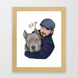Ty and Jax Framed Art Print
