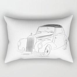 Oldtimer car Rectangular Pillow