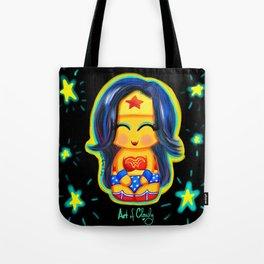 Kawaii Wonder Kokeshi Tote Bag