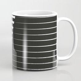 Black vs. White Coffee Mug