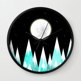 Beauty Night Wall Clock