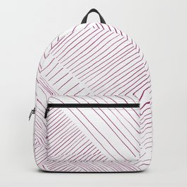Pink stripes pattern Backpack