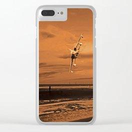 War Plane (Digital Art) Clear iPhone Case