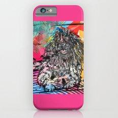 Poodle 2 pop art iPhone 6s Slim Case