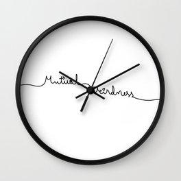 Mutual Weirdness Wall Clock