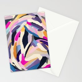 inner space flowers Stationery Cards