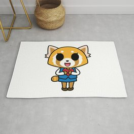 Aggretsuko Loves You! Rug