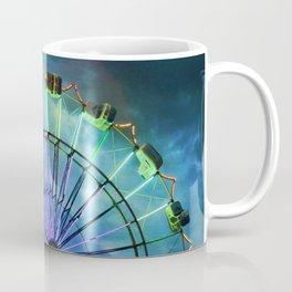 Skydiver at night Coffee Mug