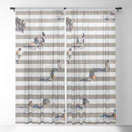 Rain Crossing Sheer Curtain